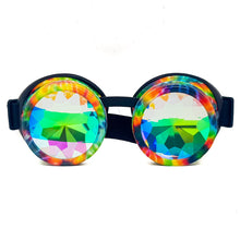 Load image into Gallery viewer, Tie-Dye Kaleidoscope Goggles V2