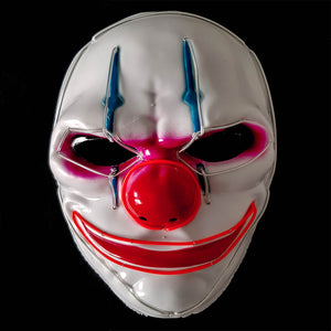 Clown LED Villain Mask