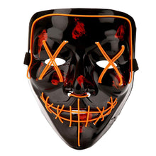 Load image into Gallery viewer, Orange LED Purge Mask