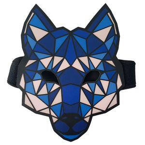 Wolf LED Sound Activated Flat Mask