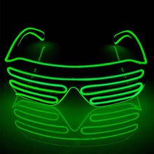 Load image into Gallery viewer, Neon Green LED Grill Glasses