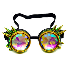 Load image into Gallery viewer, Straya Steampunk Kaleidoscope Goggles V2