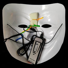 Load image into Gallery viewer, Multicolour LED Vendetta Mask