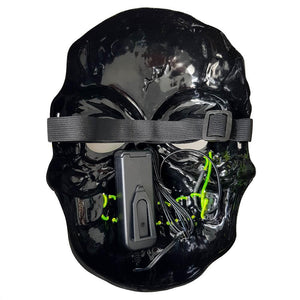 Zombie LED Villain Mask