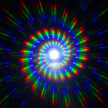 Load image into Gallery viewer, Black Wayfarer Spiral Diffraction Glasses