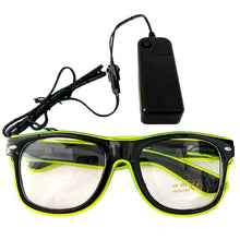 Load image into Gallery viewer, Neon Green LED Glasses