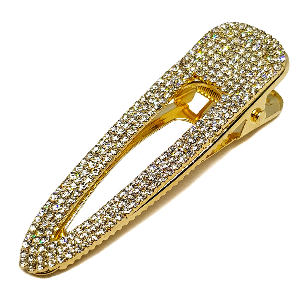 Oversized Diamond Hair Clip