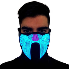 Load image into Gallery viewer, Vegeta LED Sound Activated Mask