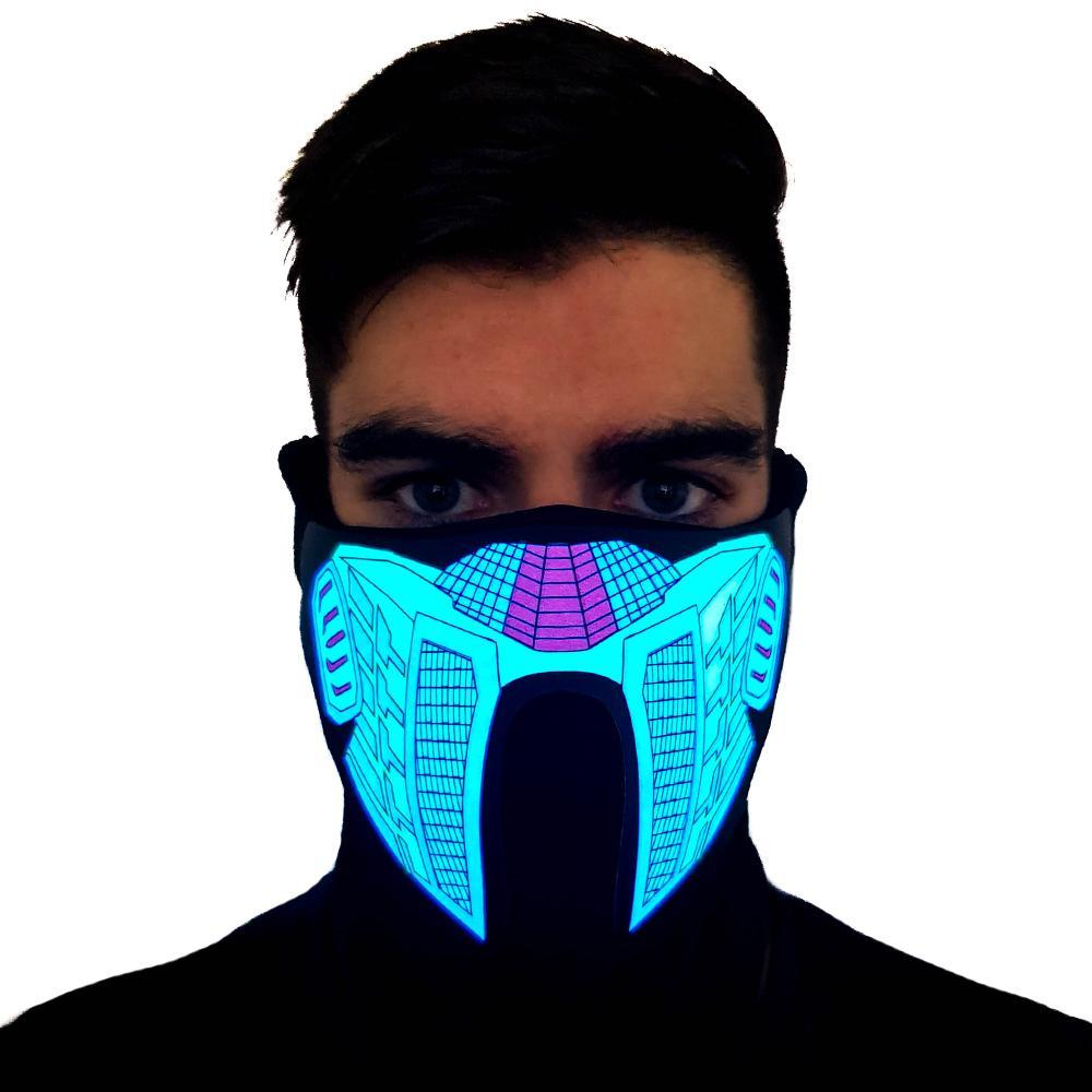 Vegeta LED Sound Activated Mask