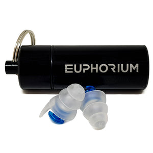 Euphorium High-Fidelity Volume Control Earplugs