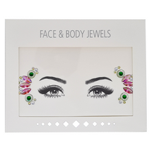 Load image into Gallery viewer, Flower Crown Face Gems