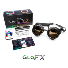 Load image into Gallery viewer, GloFX Pixel Pro Kaleidoscope Goggles
