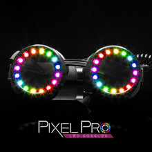 Load image into Gallery viewer, GloFX Pixel Pro Diffraction Goggles