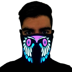 Owl LED Sound Activated Mask