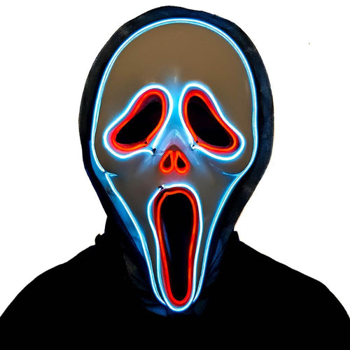 Scream LED Villain Mask