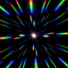 Load image into Gallery viewer, Black Wayfarer Ultimate Diffraction Glasses