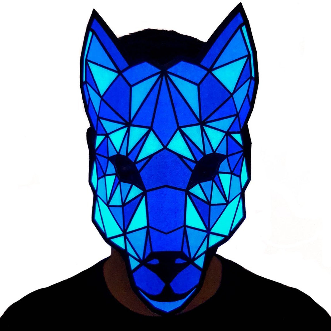 Wolf LED Sound Activated Mask