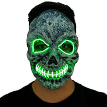 Load image into Gallery viewer, Zombie LED Villain Mask