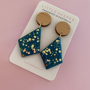 Inked Hightail Earrings