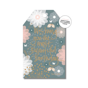 Add a gift tag to your order!