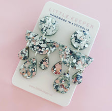 Load image into Gallery viewer, Acrylic Triple Drop Earrings