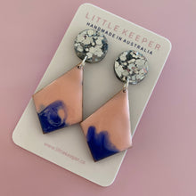 Load image into Gallery viewer, Inked Hightail Earrings