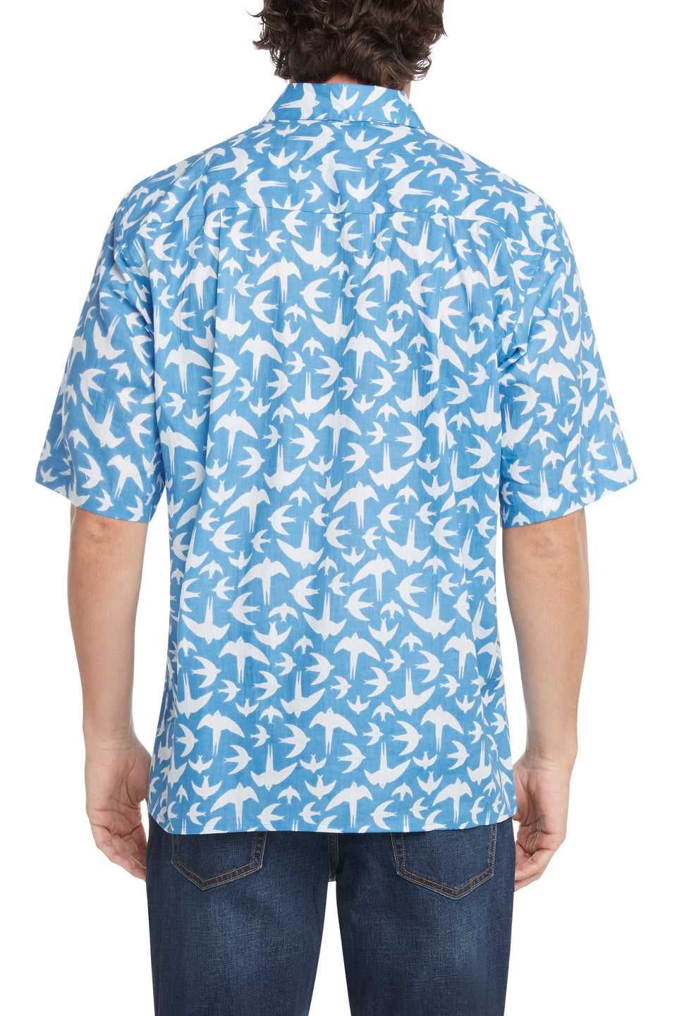 French Blue Swallows Sympatiko Shirt