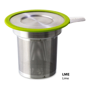Extra Fine Tea Infuser w/ Stainless Steel Lid/Saucer