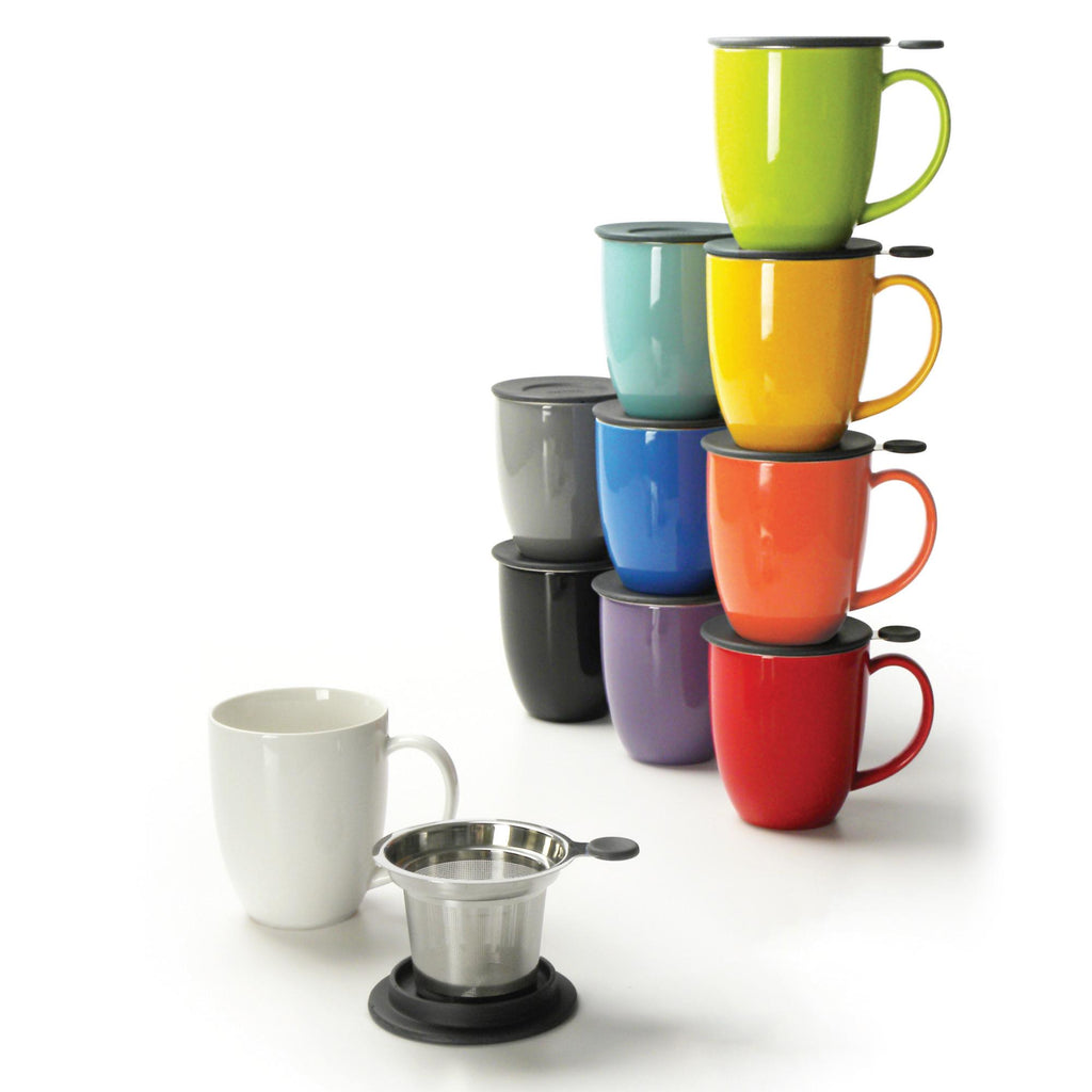 Uni Mug with Infuser & Lid/Saucer