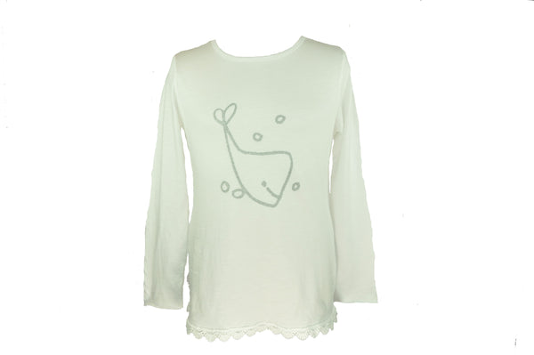 Whale Long Sleeve Shirt