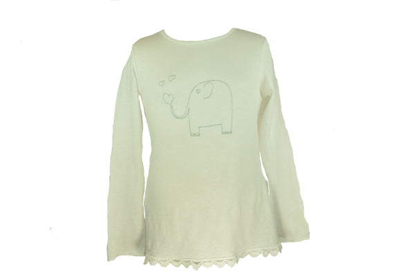 Silver Elephant Long Sleeve Shirt