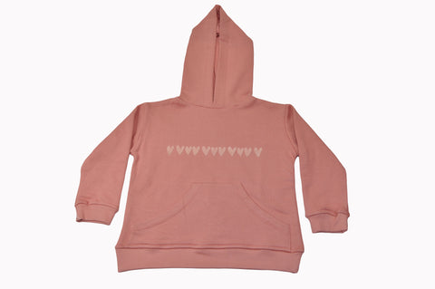 Pink Little Hearts Hoodie
