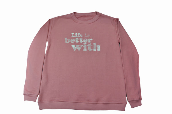 Pink Message Sweatshirt