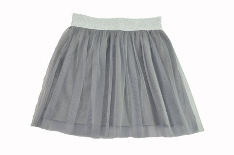 Light Gray Tulle Skirt
