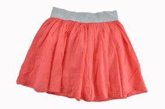 Coral Cotton Skirt