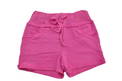 Fuchsia Cotton Shorts