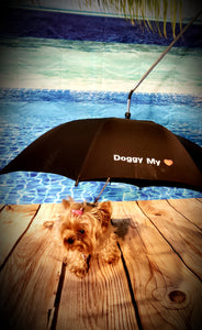 The Majestic Doggy Umbrella/Leash