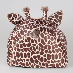 Soft Warm Giraffe print Doggy House S/M/L