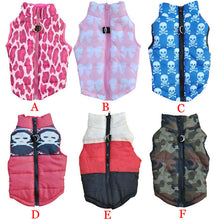 Load image into Gallery viewer, 5 colors  camouflage dog coat warm Doggy Jacket coat Cool Vest apparel for doggy