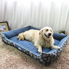 Load image into Gallery viewer, Top Quality Denim dog beds Comfortable Sleeping Mattress Cushion S,M,L,XL