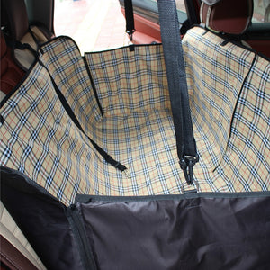 Car-styling Oxford Car dog Seat Covers Dog Carry Mat Waterproof 2 Colors Interior Accessories Hammock