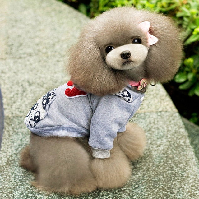 Dog Fleece Hoodie Sweatshirt Jacket Coat Small Dog Clothes Costume