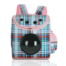 Load image into Gallery viewer, Portable Dog Carrier with window, Breathable Pet Carrier backpack Bag, Doggy Backpack Travel Carrier