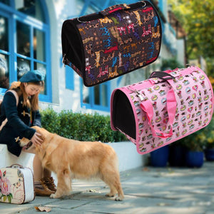 Pet Carrier Dog Travel Slings Pet Bag Dog Carrier Bags For Small Dogs Pets Portable Carriers Space Mesh Bag
