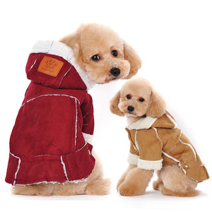 Warm Dog Coat/ Jacket Dog Jacket Outfit Clothes for Dogs Clothes Apparel