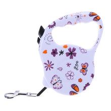 Load image into Gallery viewer, Cute Dog Leash Flexible Pet Dog Collar Leash Retractable Doggy Leash