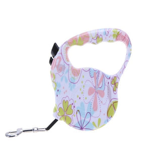 Cute Dog Leash Flexible Pet Dog Collar Leash Retractable Doggy Leash