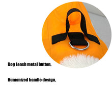 "Load image into Gallery viewer, ""Shark""  Dog LIFE JACKET,   2 COLORS  Safety Life Vest Swimwear"