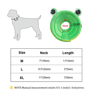 Cute Medical DogCollar Wound Healing Anti Bite/Scratch Dog Healing Collars Protection Cover Prevent Pet from Scratching and Biting
