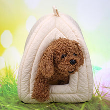 Load image into Gallery viewer, Dog House Super Soft Fabric Dog Bed Princess House